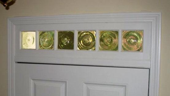 Bullseye Transom Window In Front Door